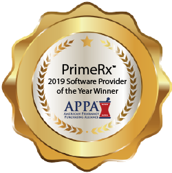 PrimeRx™ Named 2019 Pharmacy Software Company of the Year
