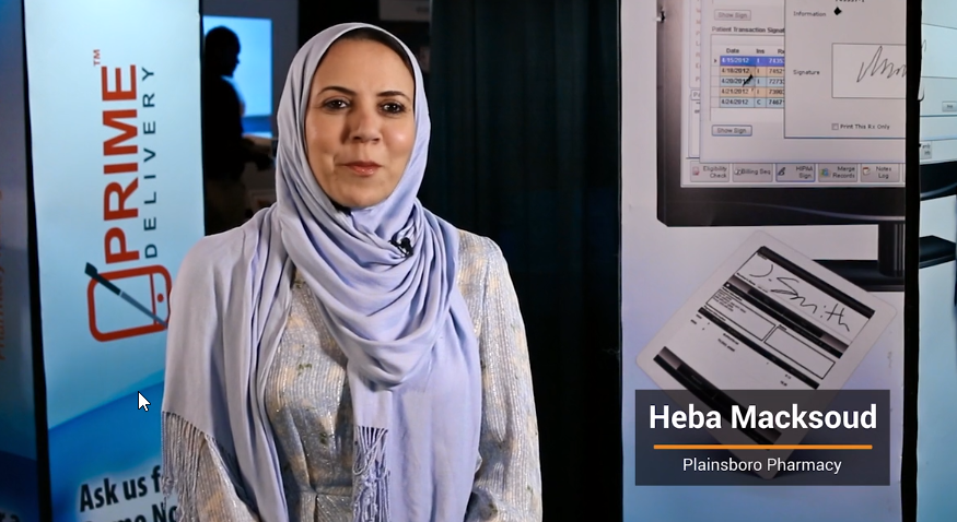 #12: Why does your pharmacy use Micro Merchant Systems and PrimeRx™?   Heba Macksound   Customer
