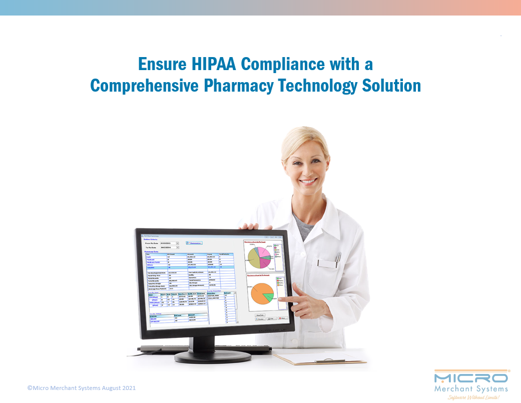 Ensure HIPAA Compliance with a Comprehensive Pharmacy Technology Solution