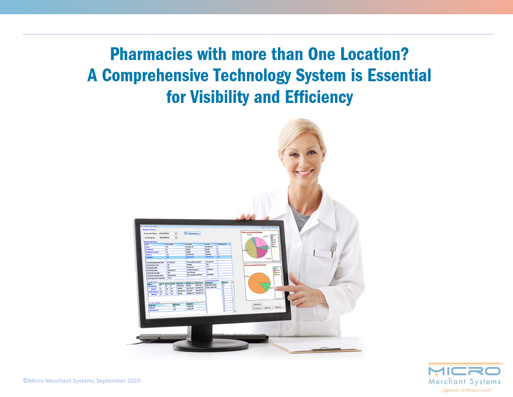 Pharmacies with more than One Location? A Comprehensive Technology System is Essential for Visibility and Efficiency