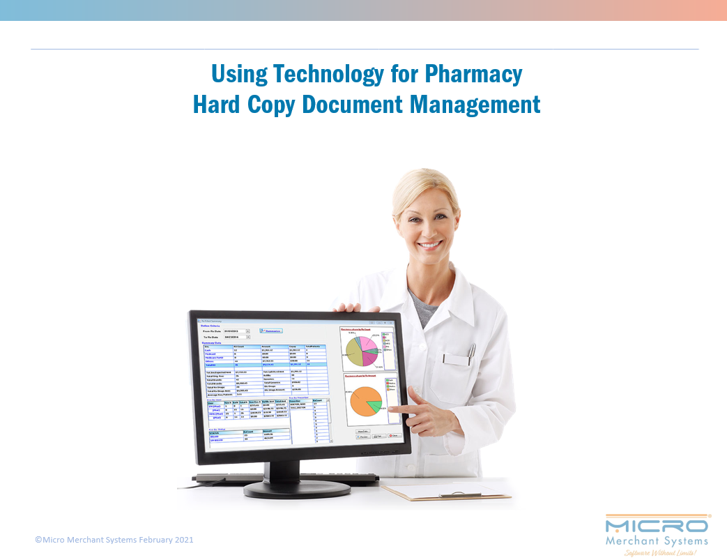 Using Technology for Pharmacy Hard Copy Document Management