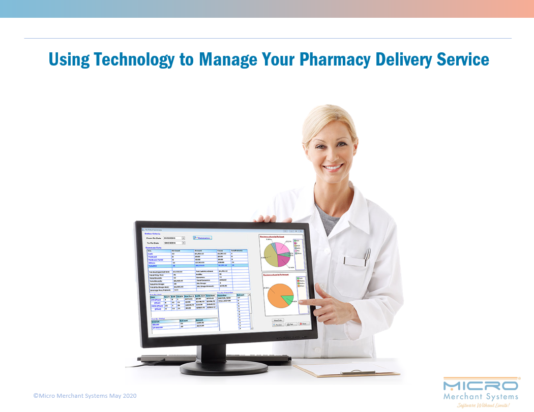 Using Technology to Manage Your Pharmacy Delivery Service