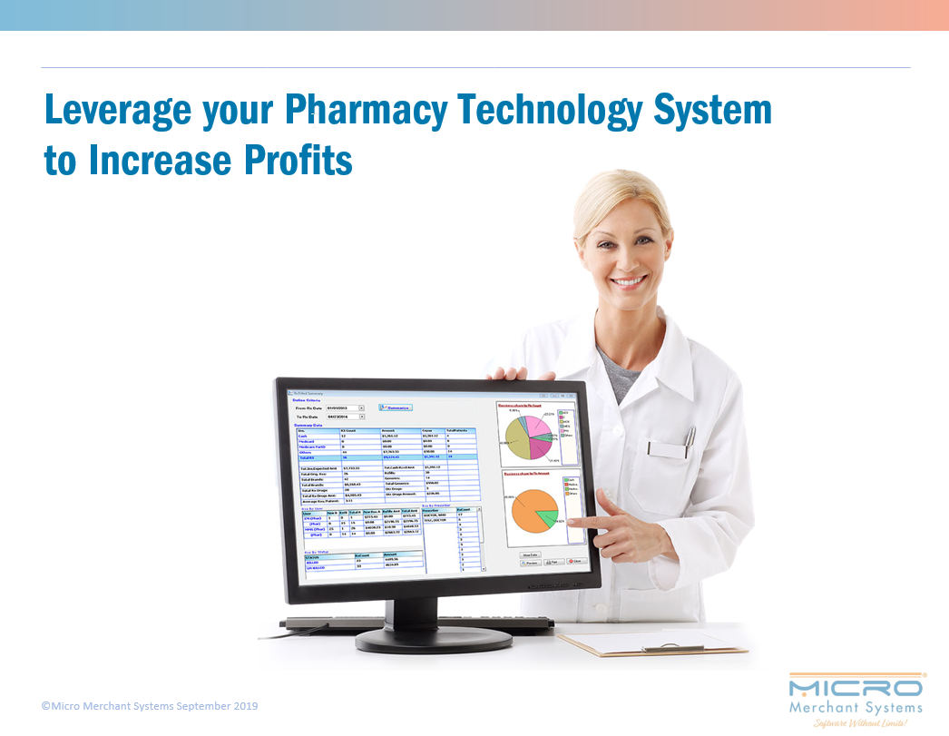 Leverage your Pharmacy Technology System to Increase Profits