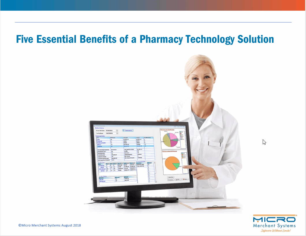 Five Essential Benefits of a Pharmacy Technology Solution